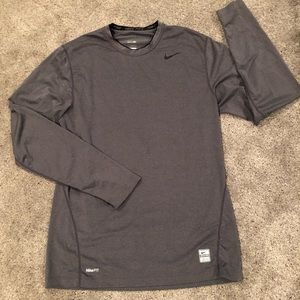 Nike Pro Combat Dri Fit fitted Athletic Shirt